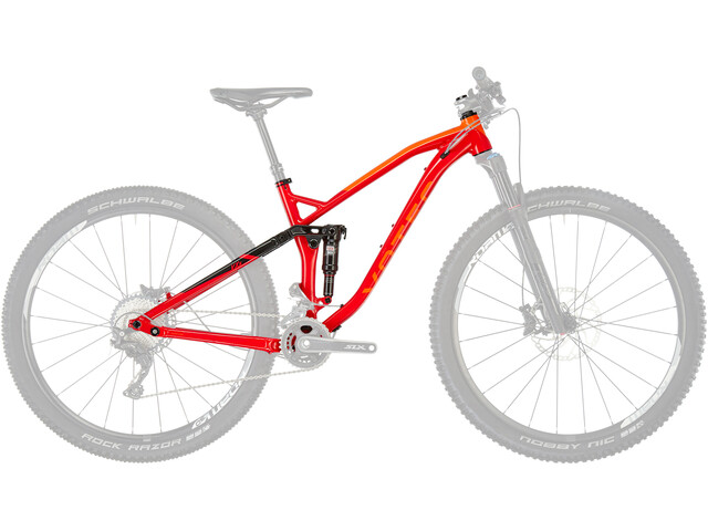 VOTEC VXS Framekit Rahmenset red-black